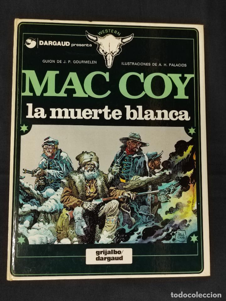 MAC COY - Nº 6 - LA MUERTE BLANCA - GRIJALBO - (Tebeos y Comics - Grijalbo - Mac Coy)