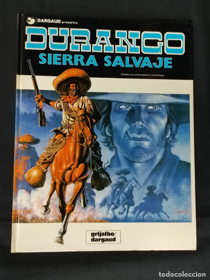 DURANGO - Nº 5 - SIERRA SALVAJE - GRIJALBO - (Tebeos y Comics - Grijalbo - Durango)