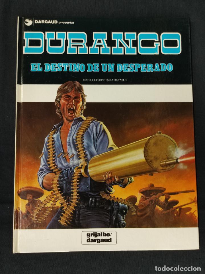 DURANGO - Nº 6 - EL DESTINO DE UN DESPERADO - GRIJALBO - (Tebeos y Comics - Grijalbo - Durango)