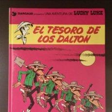 Cómics: LUCKY LUKE - EL TESORO DE LOS DALTON - EDITORIAL GRIJALBO 1982. Nº: 19. Lote 268992444