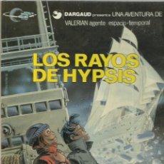 Cómics: VALERIAN 12: LOS RAYOS DE HYPSIS, 1986, GRIJALBO, MUY BUEN ESTADO. Lote 269081688