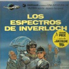 Cómics: VALERIAN 11: LOS ESPECTROS DE INVERLOCH, 1985, GRIJALBO, MUY BUEN ESTADO. Lote 269082043