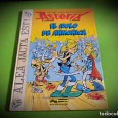 Cómics: EL ÍDOLO DE ARMORICA - GOSCINNY/UDERZO EDICIONES JUNIOR-GRIJALBO-LIBRO JUEGO. Lote 269130538