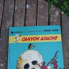 Cómics: LUCKY LUKE CAÑON APACHE GRIJALBO/DARGAUD 1981. Lote 269162758