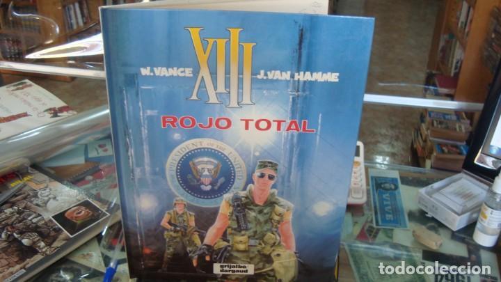 XIII. ROJO TOTAL. NÚMERO 5. GRIJALBO-DARGAUD, S.A. AÑO 1989 (Tebeos y Comics - Grijalbo - XIII)
