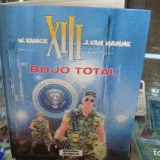 Comics: XIII. ROJO TOTAL. NÚMERO 5. GRIJALBO-DARGAUD, S.A. AÑO 1989. Lote 269215953