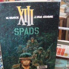 Comics: XIII Nº4: SPADS DE JEAN VAN HAMME, WILLIAM VANCE. Lote 269217888