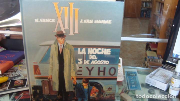 XIII - LA NOCHE DEL 3 DE AGOSTO - VAN HAMME / VANCE - GRIJALBO (Tebeos y Comics - Grijalbo - XIII)