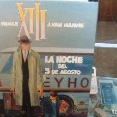 Comics: XIII - LA NOCHE DEL 3 DE AGOSTO - VAN HAMME / VANCE - GRIJALBO. Lote 269218968