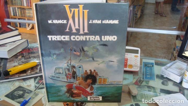 XIII Nº 8 TRECE CONTRA UNO, DE VANCE Y VAN HAMME (GRIJALBO) (Tebeos y Comics - Grijalbo - XIII)