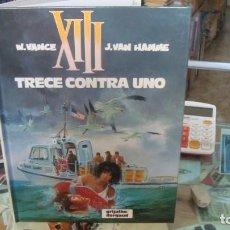 Comics: XIII Nº 8 TRECE CONTRA UNO, DE VANCE Y VAN HAMME (GRIJALBO). Lote 269219673