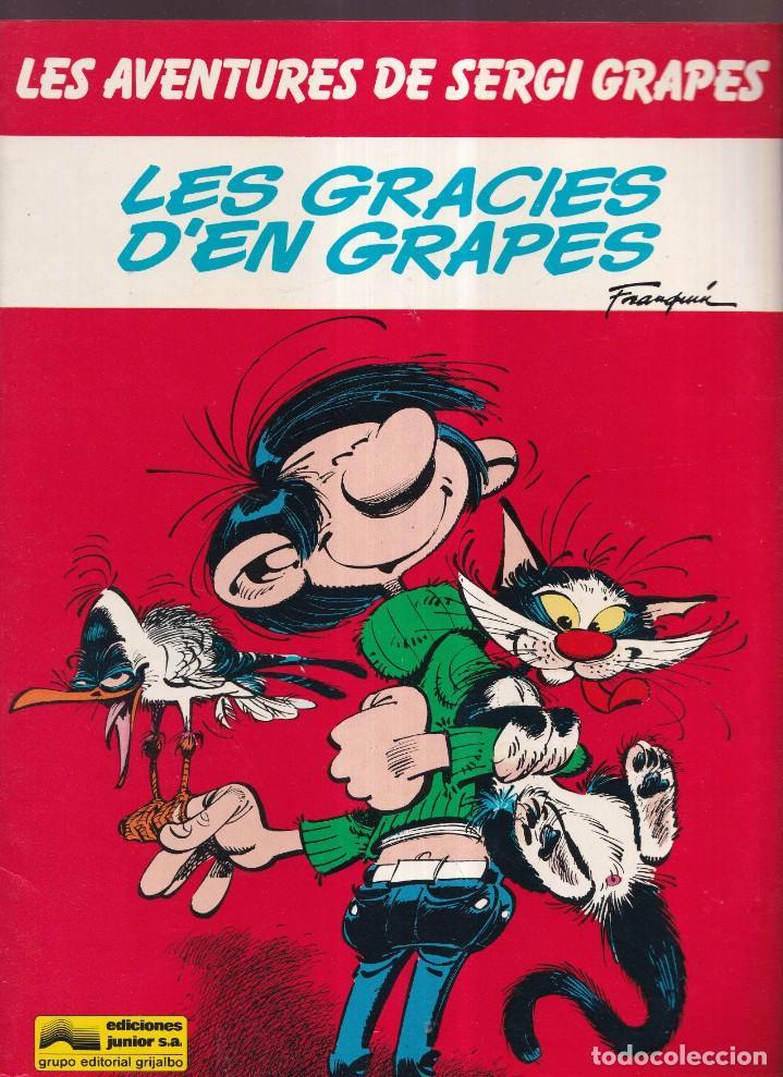LES GRACIES D'EN GRAPES - LES AVENTURES DE SERGI GRAPES 4 - EDICIONES JUNIOR GRIJALBO 1985 (Tebeos y Comics - Grijalbo - Otros)