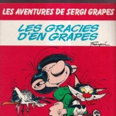 Cómics: LES GRACIES D'EN GRAPES - LES AVENTURES DE SERGI GRAPES 4 - EDICIONES JUNIOR GRIJALBO 1985. Lote 269241513