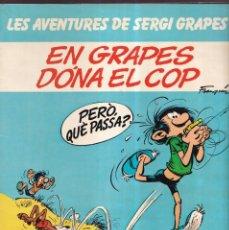 Cómics: EN GRAPES DONA EL COP - LES AVENTURES DE SERGI GRAPES 3 - EDICIONES JUNIOR GRIJALBO 1984. Lote 269241678