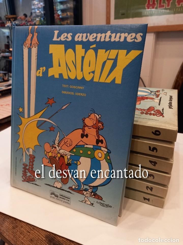 LES AVENTURES D´ASTERIX. GRIJALBO. GUÁLFLEX. 7 TOMOS. EN CATALÀ (Tebeos y Comics - Grijalbo - Asterix)