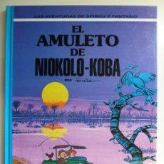 Fumetti: LAS AVENTURAS DE SPIROU Y FANTASIO Nº 37. EL AMULETO DE NIOKOLO KOBA. Lote 269479693