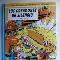 Fumetti: LAS AVENTURAS DE SPIROU Y FANTASIO Nº 45. LOS CREADORES DE SILENCIO. Lote 269480398