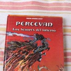 Cómics: PERCEVAN Nº 7 : LOS SEÑORES DEL INFIERNO; FAUCHE. LETURGIE. LUGUY ; GRIJALBO DARGAUD. Lote 269493728