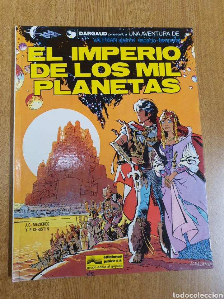 VALERIAN , EL IMPERIO DE LOS MIL PLANETAS, GRIJALBO (Tebeos y Comics - Grijalbo - Valerian)
