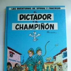 Fumetti: LAS AVENTURAS DE SPIROU Y FANTASIO Nº 6. EL DICTADOR Y EL CHAMPIÑÓN. 1986. Lote 269714258