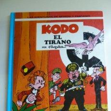Fumetti: LAS AVENTURAS DE SPIROU Y FANTASIO Nº 40. KODO EL TIRANO. 1995. Lote 269714808