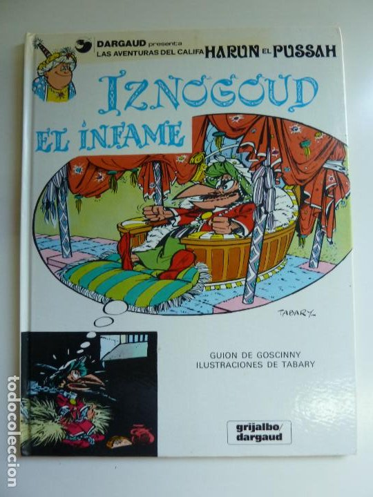 IZNOGUD EL INFAME Nº 7 (Tebeos y Comics - Grijalbo - Iznogoud)