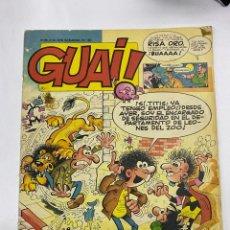 Cómics: GUAI! PUBLICACION SEMANAL Nº 30. EDICIONES JUNIOR. GRIJALBO.. Lote 269774053