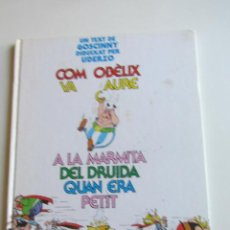 Comics : COM OBELIX VA CAURE A LA MARMITA DEL DRUIDA QUAN ERA PETIT * ED. JUNIOR GRIJALBO E6. Lote 269937763