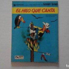 Cómics: EL HILO QUE CANTA. LUCKY LUKE. MORRIS-GOSCINNY.. Lote 269939553