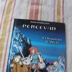 Cómics: PERCEVAN Nº 2 : EL SEPULCRO DE HIELO FAUCHE. LETURGIE. LUGUY ; JUNIOR GRIJALBO. Lote 269974313