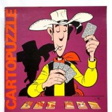 Comics : LUCKY LUKE CARTOPUZZLE - JUEGO DE 60 CARTAS - EDICIONES DISTEIN - 1973. Lote 270166608