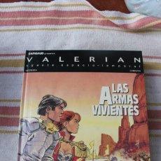Comics: VALERIAN AGENTE ESPACIO-TEMPORAL Nº 14 : LAS ARMAS VIVIENTES; GRIJALBO/DARGAUD. Lote 270199643