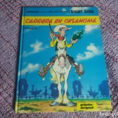 Cómics: CARRERA EN OKLAHOMA. LUCKY LUKE. GRIJALBO DARGAUD. N° 39. TAPA DURA.. Lote 270169288