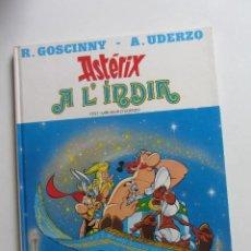 Cómics: ASTERIX A L,INDIA GRIJALBO, EDICIONES JUNIOR R. GOSCINNY. A. UDERZO CATALÀ ARX39. Lote 270367878