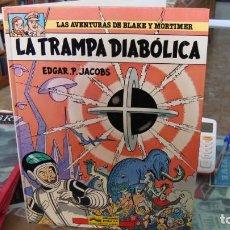 Cómics: LA TRAMPA DIABOLICA- EDGAR.P.JACOBS GRIJALBO.. Lote 270550063