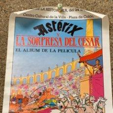Cómics: POSTER ASTERIX Y LA SORPRESA DEL CESAR III SEMANA HISTORIETA JUNIO AÑOS 70 70X50CMS. Lote 270562388