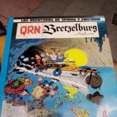 Cómics: QRN EN BRETZELBURG. SPIROU Y FANTASIO. Lote 270597328