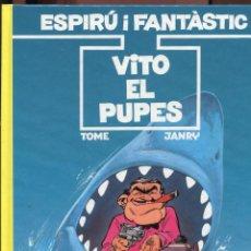Cómics: ESPIRU I FANTASTIC. 29. VITO EL PUPES. GRIJALBO 1992.. Lote 270677663
