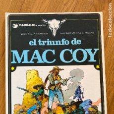 Fumetti: MAC COY 4 - EL TRIUNFO DE MAC COY - GRIJALBO - BUEN ESTADO. Lote 270688678