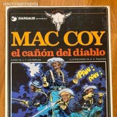 Fumetti: MAC COY 9 - EL CAÑON DEL DIABLO - GRIJALBO - BUEN ESTADO. Lote 270690078