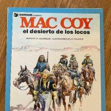 Comics : MAC COY 14 - EL DESIERTO DE LOS LOCOS - GRIJALBO - BUEN ESTADO. Lote 270692233
