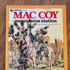 Comics : MAC COY 15 - MESCALEROS STATION - GRIJALBO - BUEN ESTADO. Lote 270692498