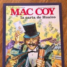 Comics: MAC COY 19 - LA CARTA DE HUALCO - GRIJALBO - BUEN ESTADO. Lote 270694393
