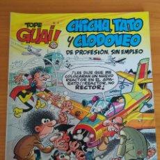 Cómics: CHICHA, TATO Y CLODOVEO - EL NEGOCIETE - TOPE GUAI! Nº 4 - JUNIOR, GRIJALBO (C). Lote 270881043