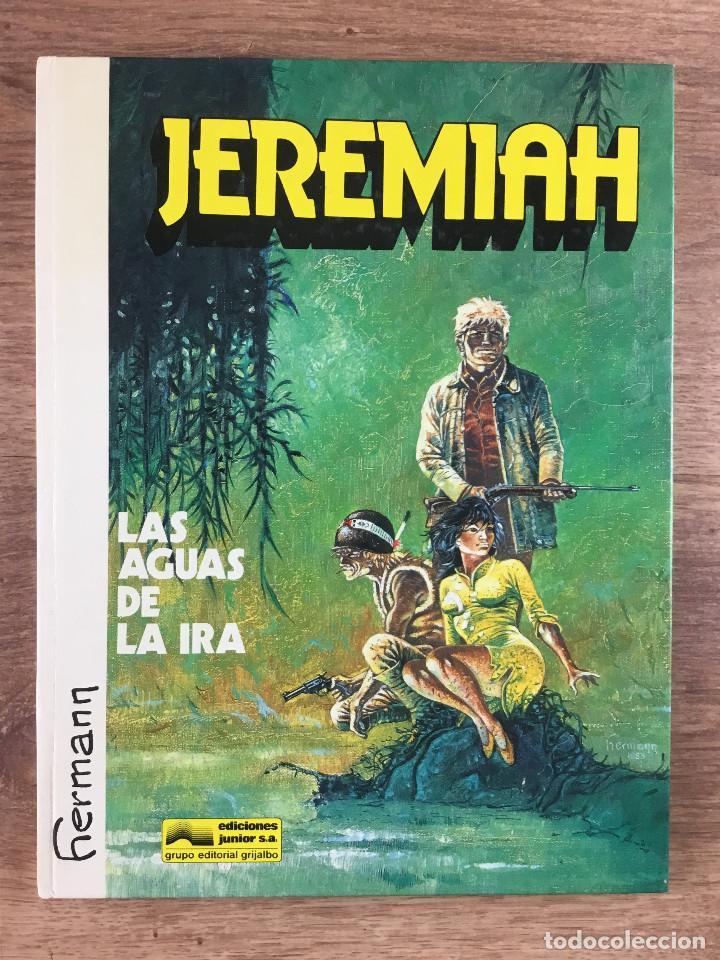 JEREMIAH Nº 8 - LAS AGUAS DE IRA - HERMAN - EDICIONES JUNIOR GRUPO EDITORIAL GRIJALBO 1986 (Tebeos y Comics - Grijalbo - Jeremiah)