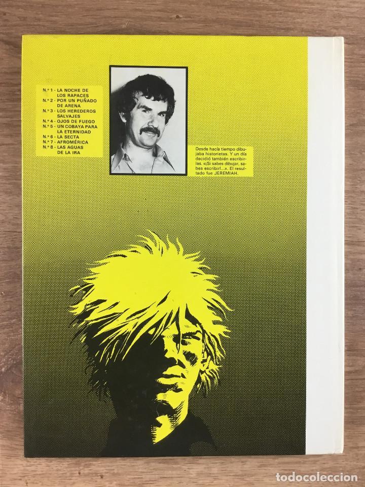 Cómics: JEREMIAH Nº 8 - Las aguas de ira - Herman - Ediciones Junior grupo editorial Grijalbo 1986 - Foto 2 - 270900238
