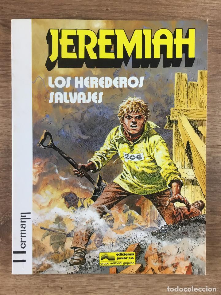 JEREMIAH Nº 3 LOS HEREDEROS SALVAJES - HERMAN - EDICIONES JUNIOR GRUPO EDITORIAL GRIJALBO 1981 (Tebeos y Comics - Grijalbo - Jeremiah)