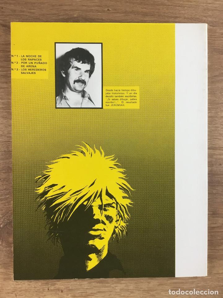 Cómics: JEREMIAH Nº 3 Los herederos Salvajes - Herman - Ediciones Junior grupo editorial Grijalbo 1981 - Foto 2 - 270901053