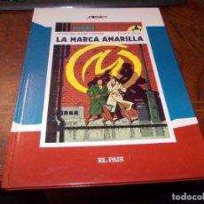 Cómics: LAS AVENTURAS DE BLAKE Y MORTIMER, LA MARCA AMARILLA. EDGAR P. JACOBS. EL PAÍS 2.005. Lote 271085928