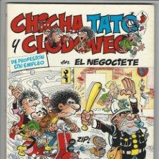 Cómics: GRIJALBO. JUNIOR. 3. CHICHA, TATO Y CLODOVEO.. Lote 271306573